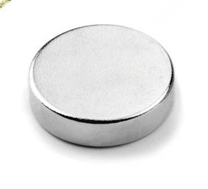 Ímã de Neodímio Disco N35 10x2,5 mm