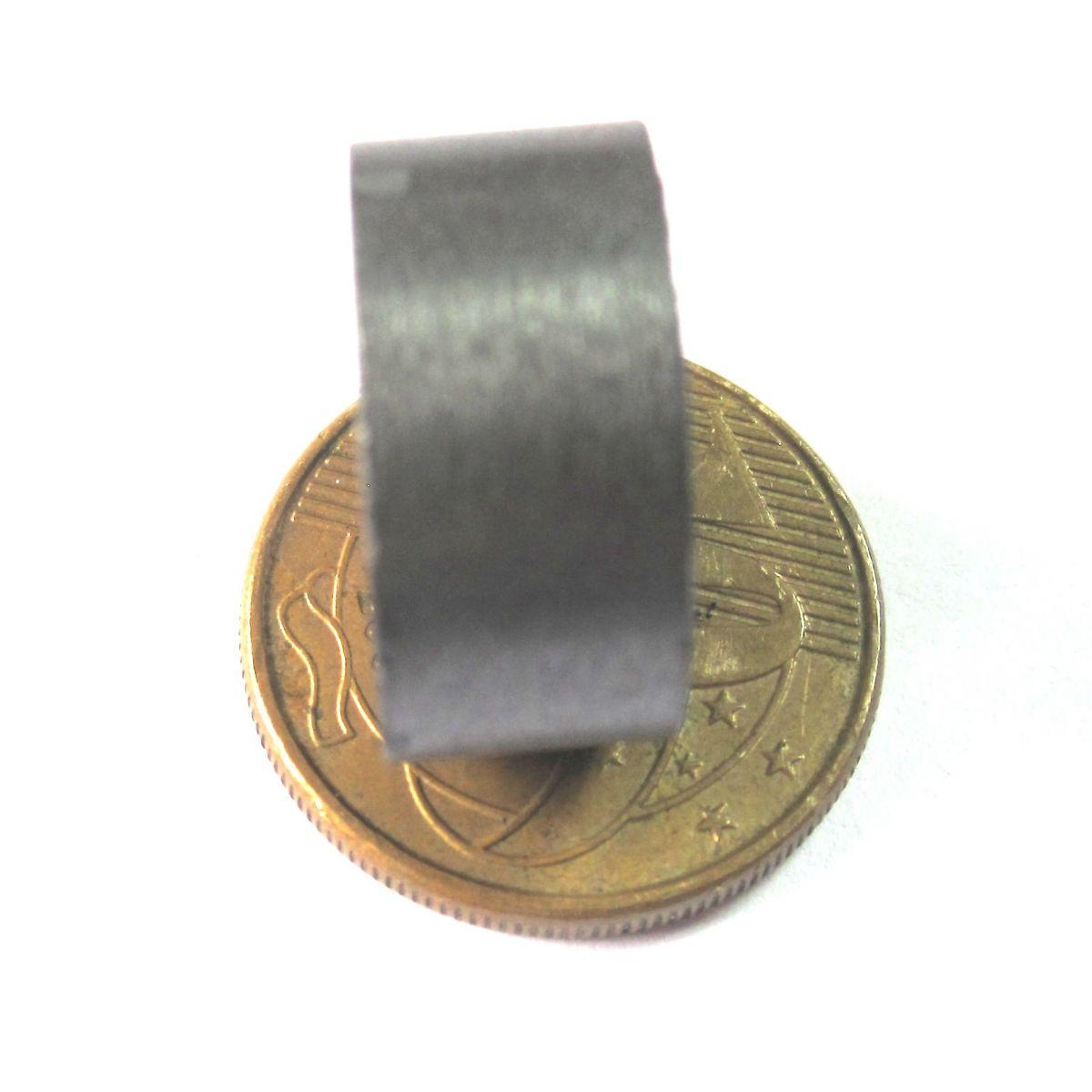 Imã de Ferrite Disco (cerâmica) Y30 17x8 mm