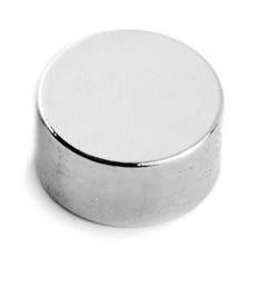 Imã de Neodímio Disco N35 10x5 mm