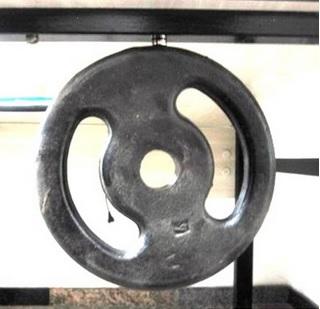 Imã de Neodímio Disco N35 13x5 mm  - Polo Magnético