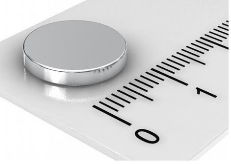 Imã de Neodímio Disco N35 12,5x1,5 mm