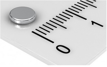 Imã de Neodímio Disco N35 5x1 mm