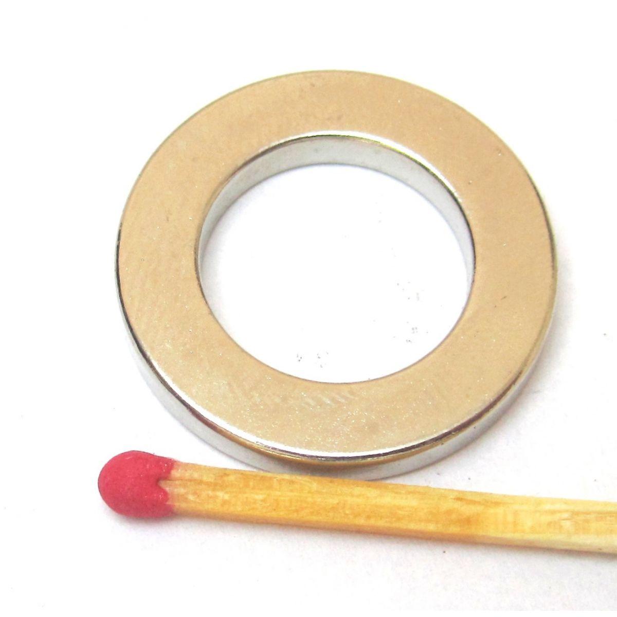 Imã de Neodímio Anel N35 23x14x3 mm