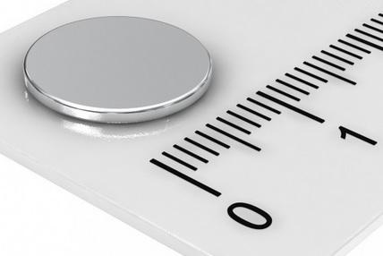 Imã de Neodímio Disco N35 12x1 mm