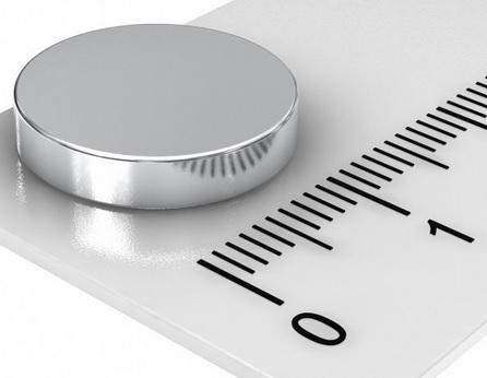 Imã de Neodímio Disco N35 15x2,5 mm