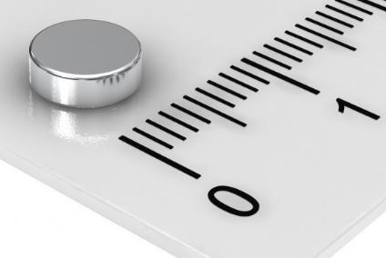Imã de Neodímio Disco N35 6x2 mm
