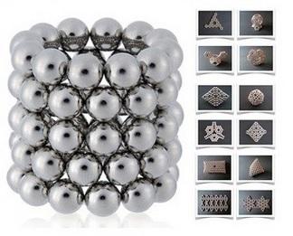 Imã de Neodímio Esfera N35 4 mm  - Polo Magnético