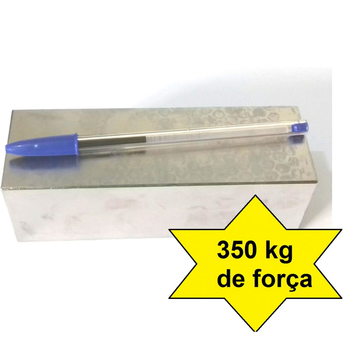 Imã de Neodímio Bloco N42 150x50x50 mm