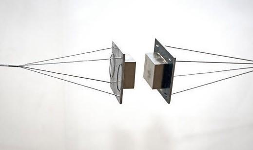 "Imã de Neodímio Bloco N52 2x2x1"" ou 50,8x50,8x25,4 mm  - Polo Magnético"