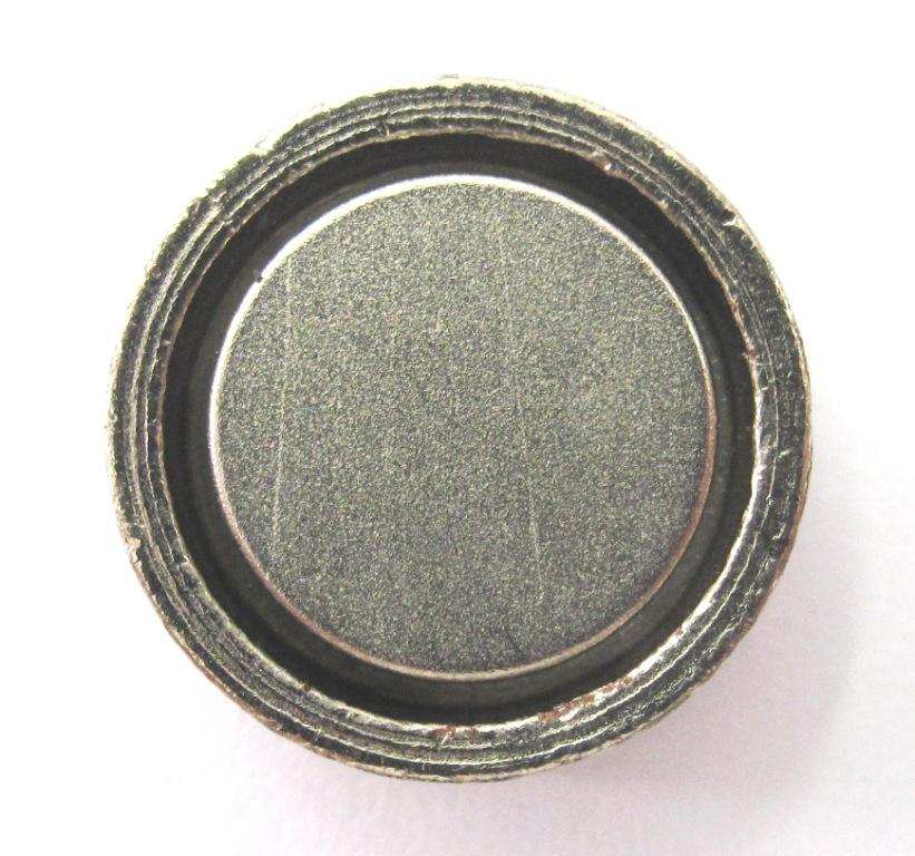 Imã de Neodímio Disco Com proteção 13x4,5 mm