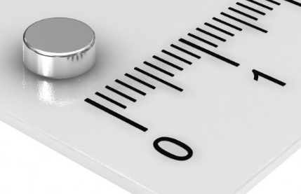 Imã de Neodímio Disco N35 5x2 mm