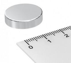 Imã de Neodímio Disco N35 20x5 mm  - Polo Magnético