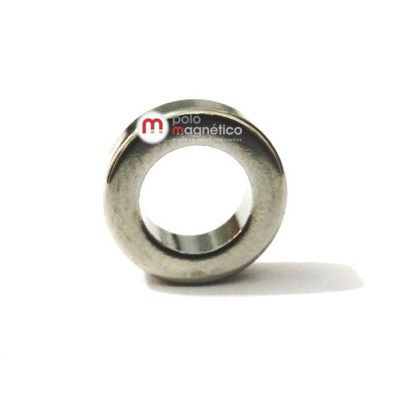 Imã de Neodímio Anel N35 10x6x3 mm  - Polo Magnético