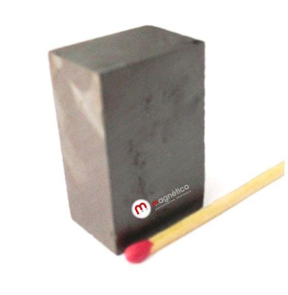 Imã de Ferrite Bloco (cerâmica) Y30 36x23,3x16 mm