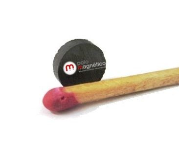 Imã de Ferrite Disco (cerâmica) Y30 8x2 mm
