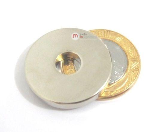 Imã de Neodímio Anel N35 28x8x4 mm