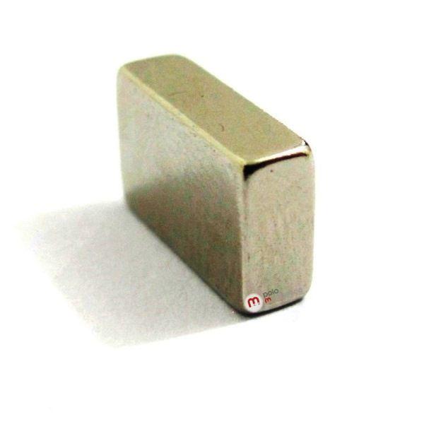 Imã de Neodímio Bloco N35 10x6x3 mm