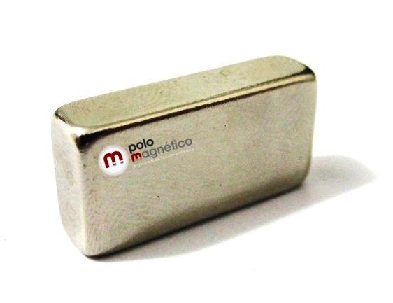 Imã de Neodímio Bloco N42 20x10x5 mm