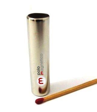 Imã de Neodímio Cilindro N35 12,7x50,8 mm  - Polo Magnético