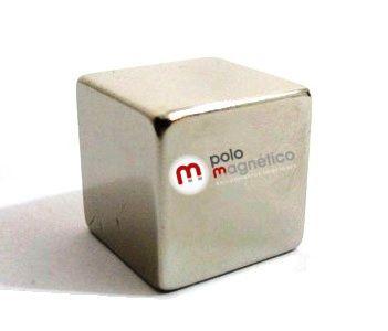Imã de Neodímio Cubo N42 20x20x20 mm