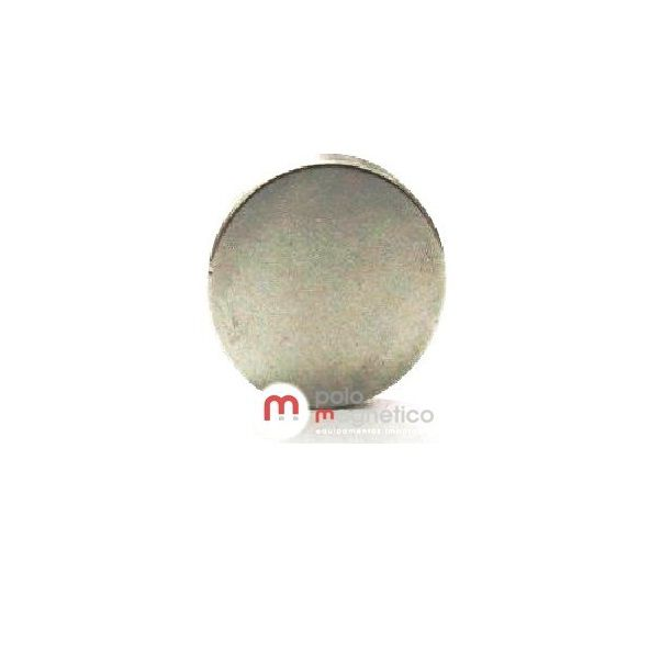 Ímã de Neodímio Disco N35 10x1,5 mm  - Polo Magnético