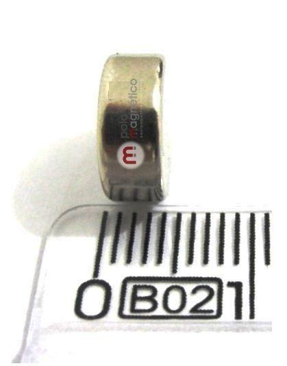 Imã de Neodímio Disco N35 10x4 mm  - Polo Magnético