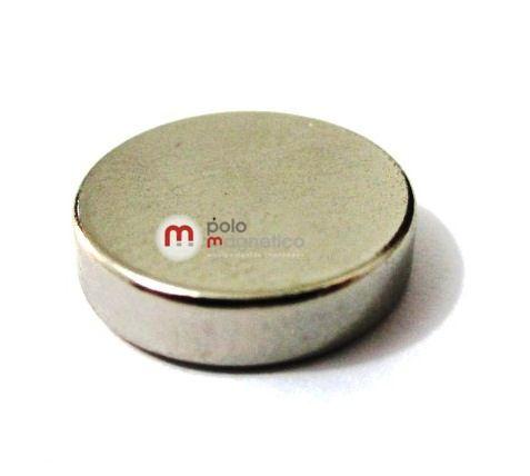 Imã de Neodímio Disco N35 12x3 mm