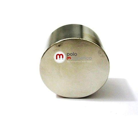 Imã de Neodímio Disco N42 50x30 mm