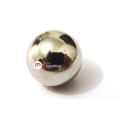 Imã de Neodímio Esfera N35 12 mm  - Polo Magnético
