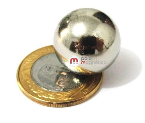 Imã de Neodímio Esfera N35 20 mm