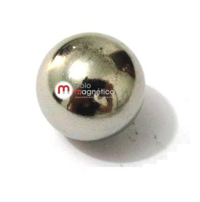 Imã de Neodímio Esfera N35 20 mm  - Polo Magnético