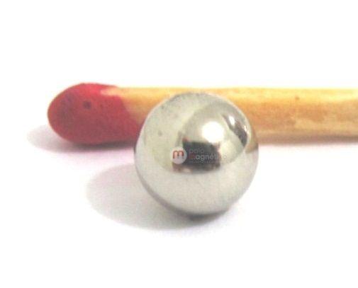 Imã de Neodímio Esfera N35 6 mm  - Polo Magnético