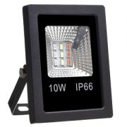 Refletor LED RGB 10w  - C/ Controle Remoto