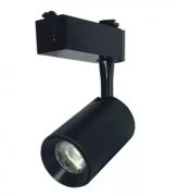 SPOT LED TRILHO COB 7W PRETO - Super Preço!