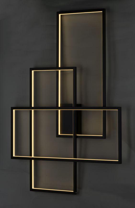 Arandela LED Concept Square Art - SOB MEDIDA