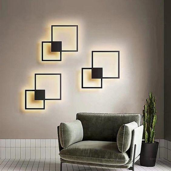 Arandela LED Concept Square Duo - SOB MEDIDA