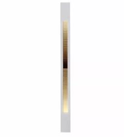 Balizador Embutir BL 6008-M  C/ 2 Lamp led G9  - 9led