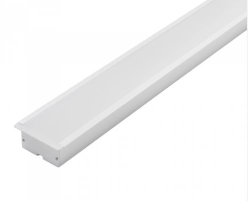 Perfil LED Embutir 86mm - 50w por Metro - *Pronto para instalar