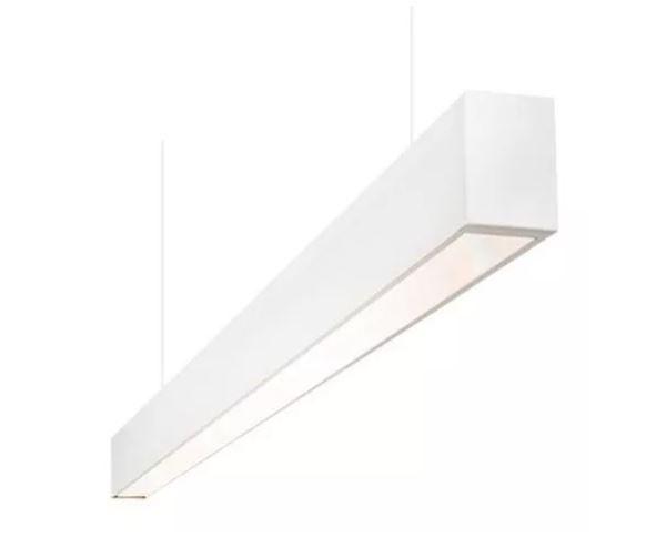Perfil LED Pendente 35mm - 20W por Metro - *Pronto para instalar