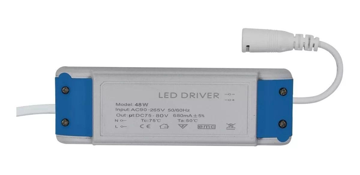 Driver para Luminária / Painel de Led 40 - 48W