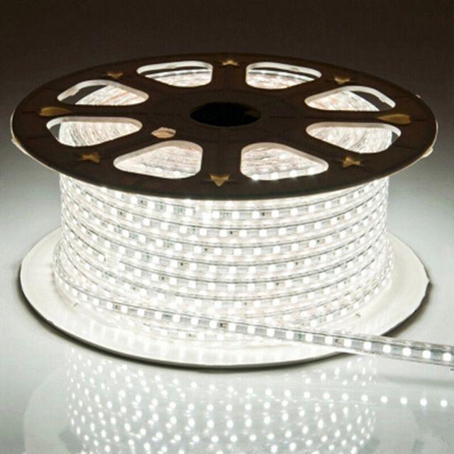 Fita LED 127v / 220v 5050 - Bobina Com 50 Metros - NÃO NECESSITA DE FONTE  - 9led