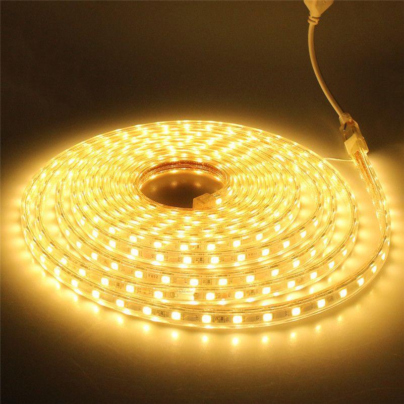 Fita LED 127v - 5050 - 10 a 25 Metros - NÃO NECESSITA DE FONTE