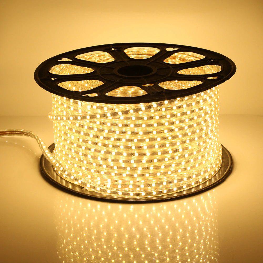 Fita LED 127v - 5050 - Bobina Com 100 Metros - NÃO NECESSITA DE FONTE