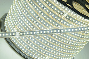 Fita LED 127v - 5730 120 leds p/ Metro *HIGH POWER* - 10 a 25 Metros - NÃO NECESSITA DE FONTE