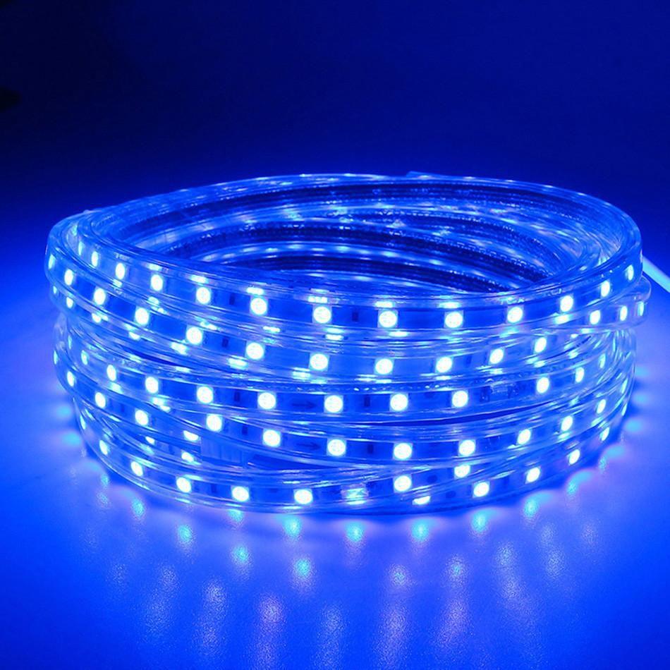 Fita LED 127v - 5050 - Azul - 5 Metros - NÃO NECESSITA DE FONTE