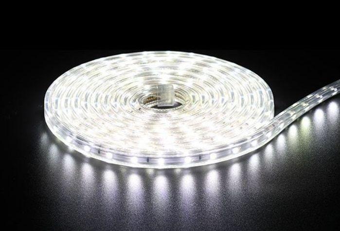 Fita LED 220v - 5050 - 5 a 9 Metros - NÃO NECESSITA DE FONTE