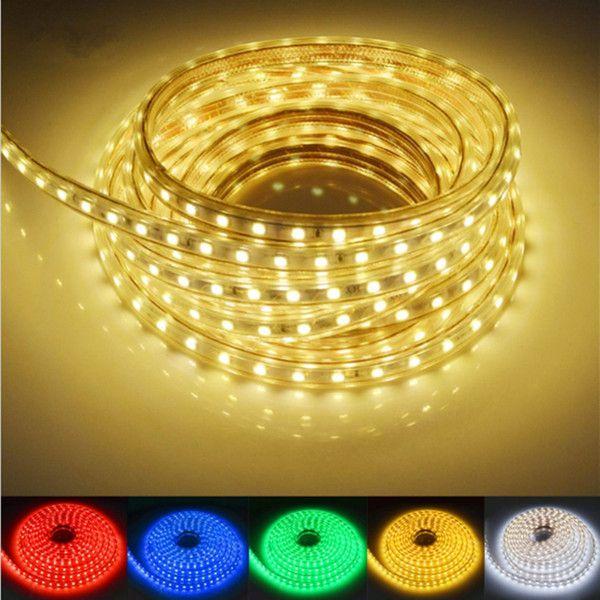 Fita LED RGB 127v - 5050 - 10 Metros - NÃO NECESSITA DE FONTE