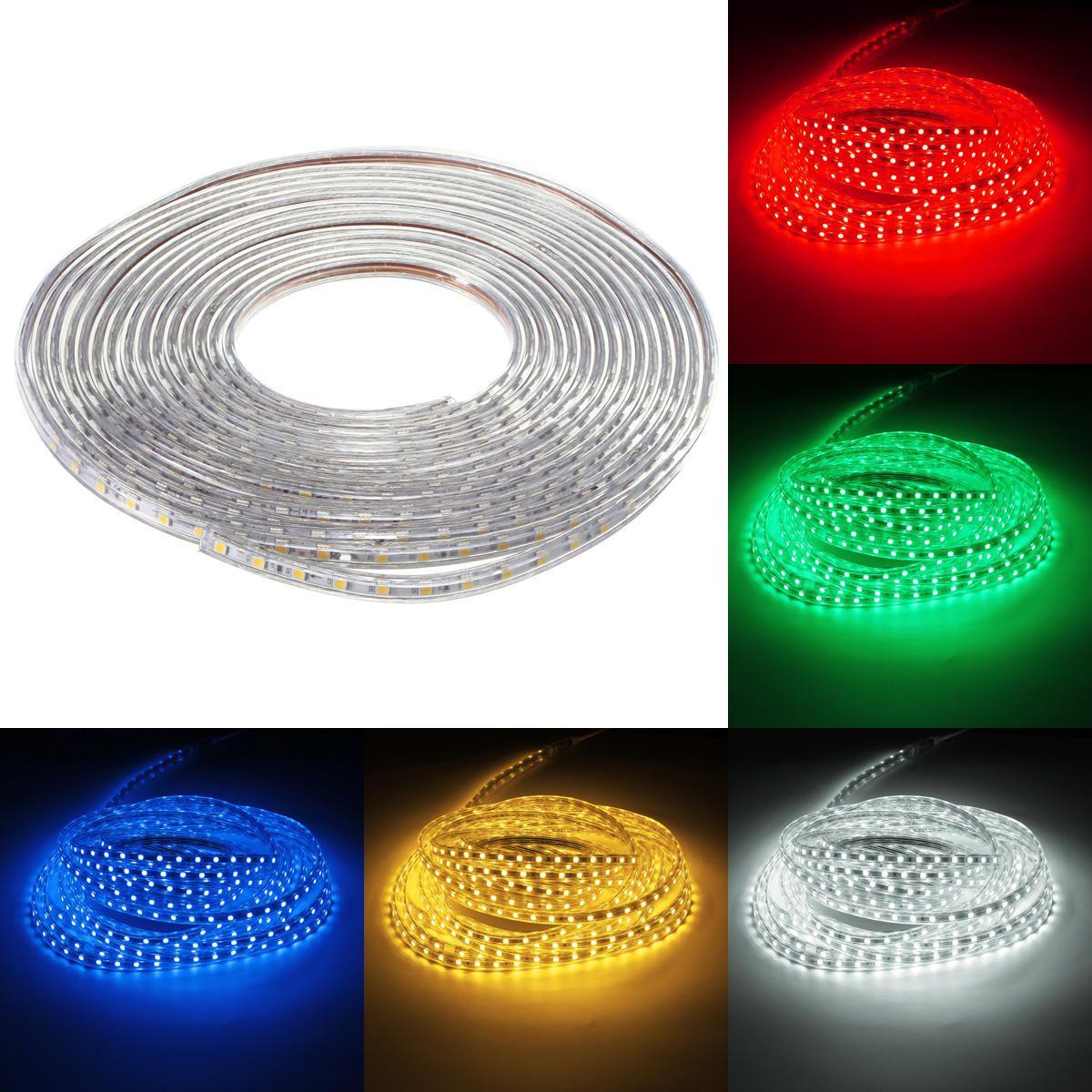 Fita LED RGB 127v - 5050 - 5 Metros - NÃO NECESSITA DE FONTE