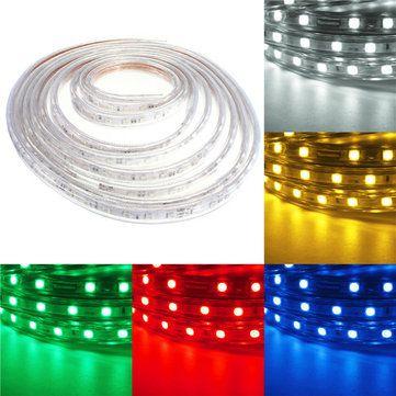 Fita LED RGB 220v - 5050 - 10 Metros - NÃO NECESSITA DE FONTE