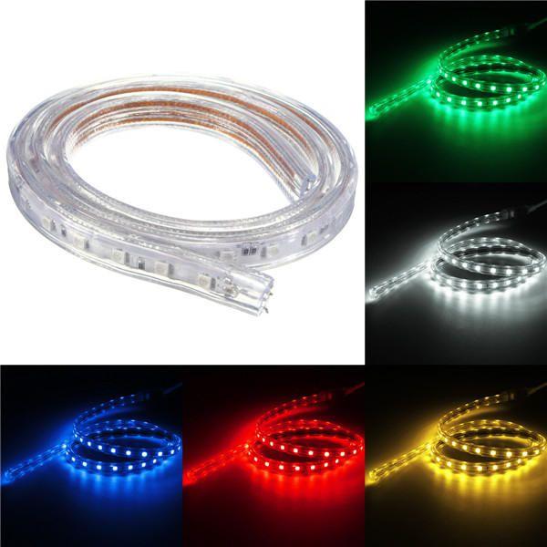 Fita LED RGB 220v - 5050 - 5 Metros - NÃO NECESSITA DE FONTE